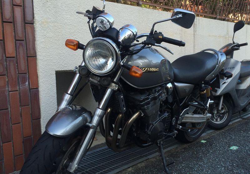 【スズキイナズマ400】バイク王に売却!査定高額で大成功!